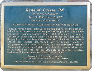 Renee Caisse Memorial