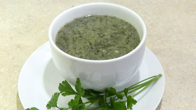 Leek and Nettle Soup