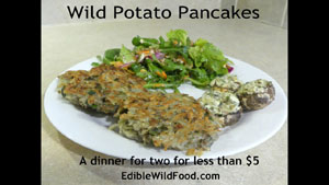 Cheap Meals: Wild Potato Pancakes